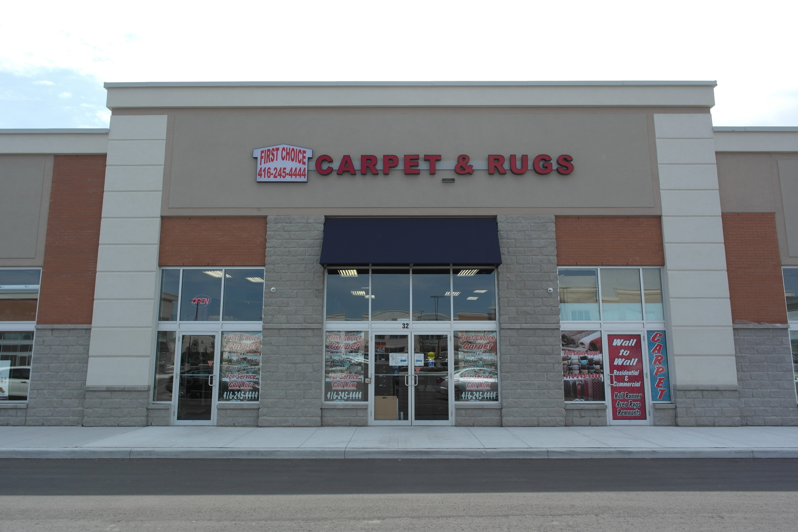 First Choice Carpet & Rugs Exterior View